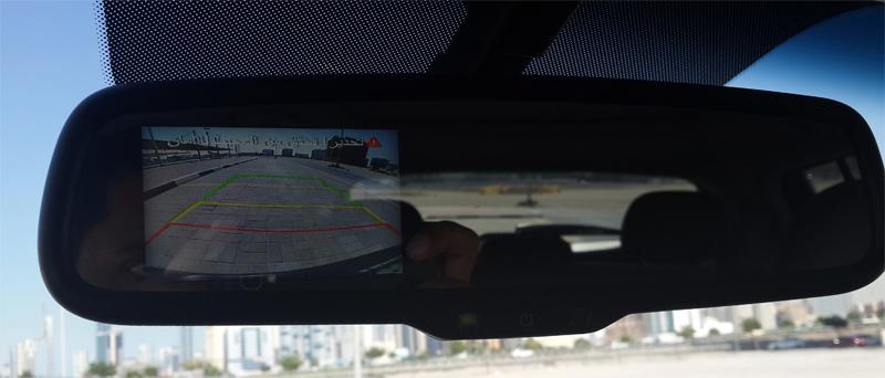 Rear Camera in mirror